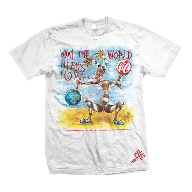 Public Image Ltd ( Pil ) What the World Needs Now Color T-Shirt
