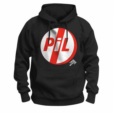 Public Image Ltd ( Pil ) Red Logo Pullover Hoodie