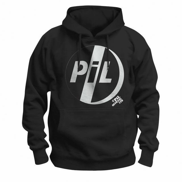 Public Image Ltd ( Pil ) White Logo Pullover Hoodie