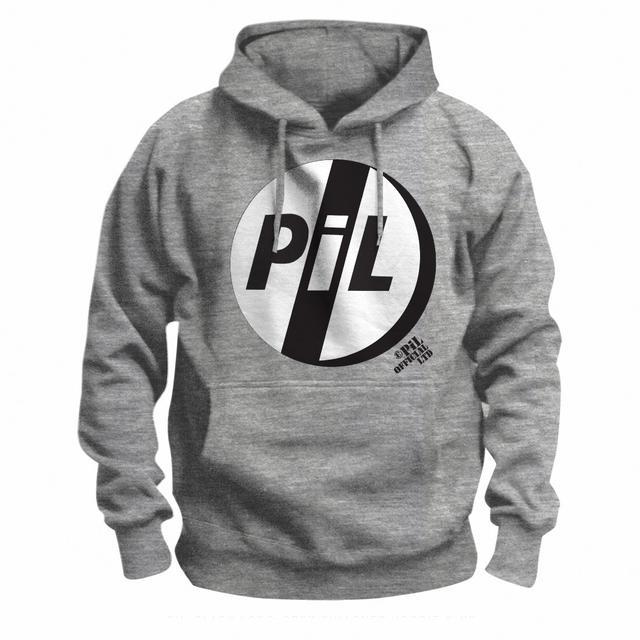 Public Image Ltd ( Pil ) Black Logo Pullover Hoodie