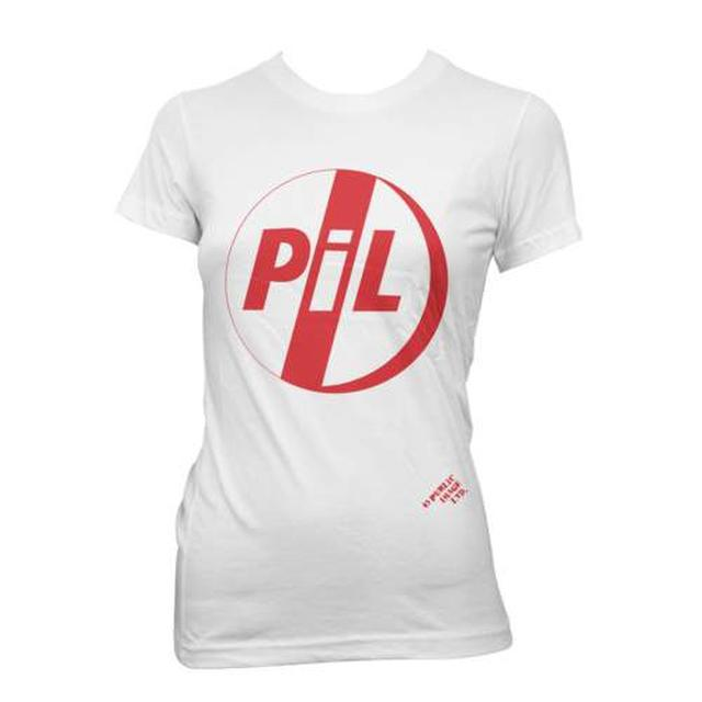 Public Image Ltd ( Pil ) Classic Red Logo Ladies Tee