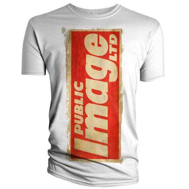 Public Image Ltd ( Pil ) White News T-Shirt
