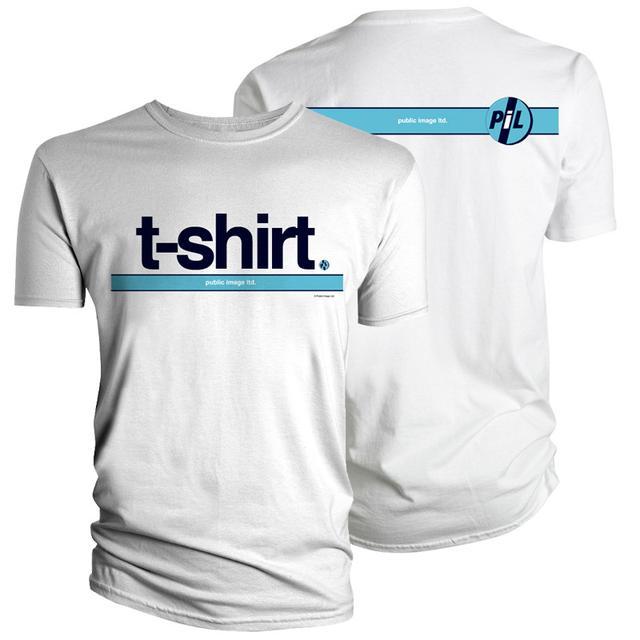 "Public Image Ltd ( Pil ) PiL ""T-Shirt"" White T-Shirt"
