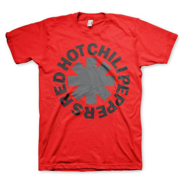 Red Hot Chili Peppers RHCP Red/Grey Asterisk