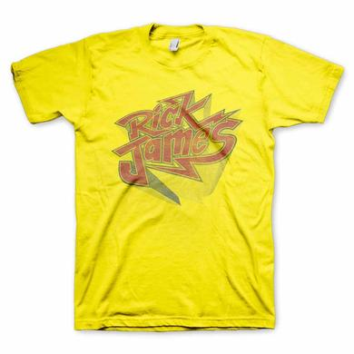Rick James Yellow Bolt Tee