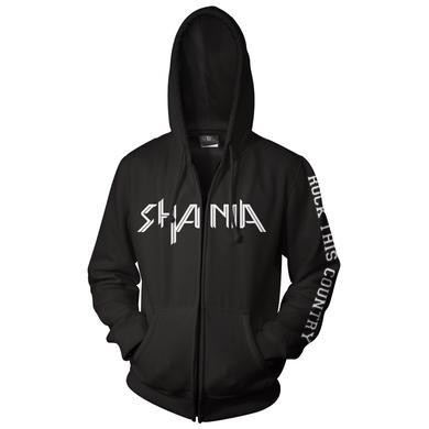Shania Twain Logo Zip Hoodie
