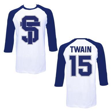 Shania Twain ST Navy Baseball Raglan
