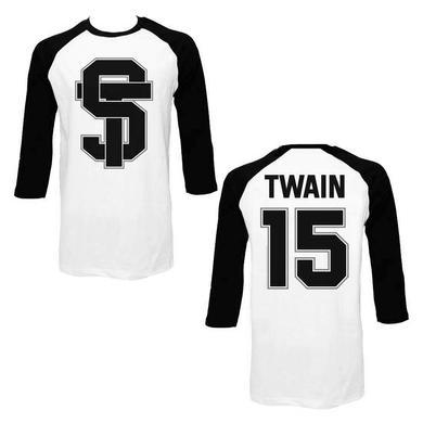 Shania Twain ST Black Baseball Raglan