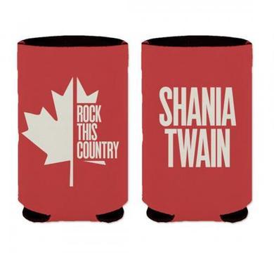 Shania Twain Shania Flag Koozie