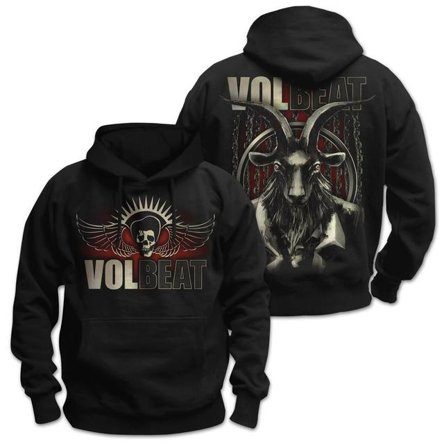 Volbeat Chained Goat Pullover Hoodie