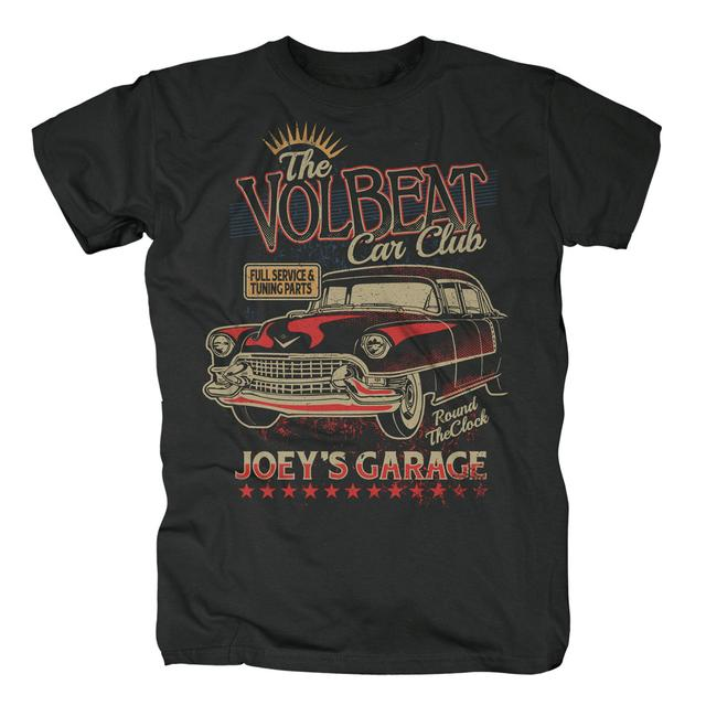 Volbeat Car Club T-Shirt