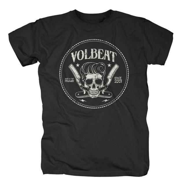 Volbeat Skull & Razors T-Shirt