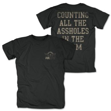 Volbeat Counting All The Assholes T-Shirt