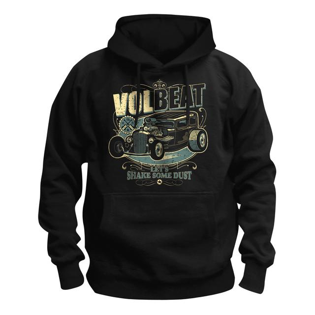 Volbeat Let's Shake Some Dust Hot Rod Pullover Hoodie