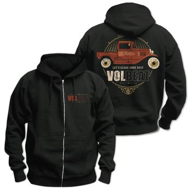 Volbeat Let's Shake Some Dust Zip Hoodie