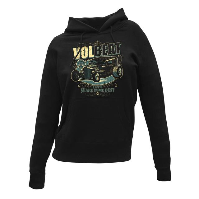 Volbeat Let's Shake Some Dust Hot Rod Women's Pullover Hoodie