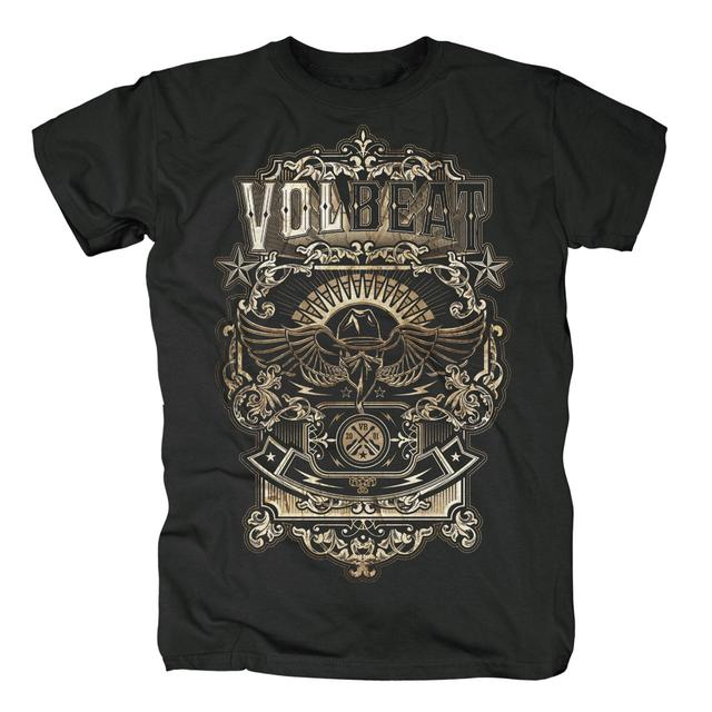 Volbeat Old Letters T-Shirt