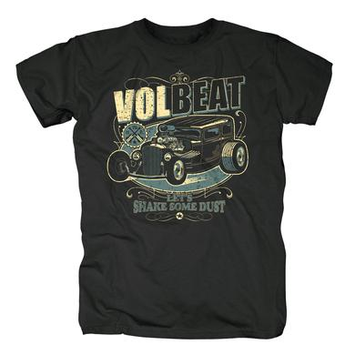Volbeat Let's Shake Some Dust Hot Rod T-Shirt