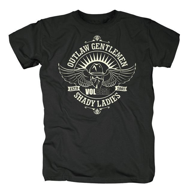 Volbeat Outlaw Gentlemen & Shady Ladies Crest T-Shirt