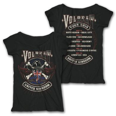 Volbeat UK 2014 Tour Women's Tee