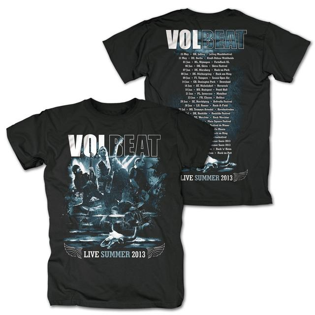 Volbeat Live Summer 2013 Tour T-Shirt