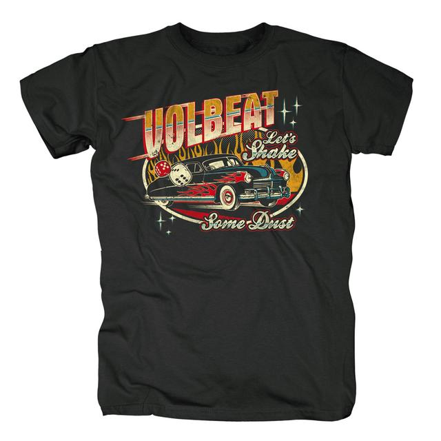 Volbeat Let's Shake Some Dust Car & Dice T-Shirt