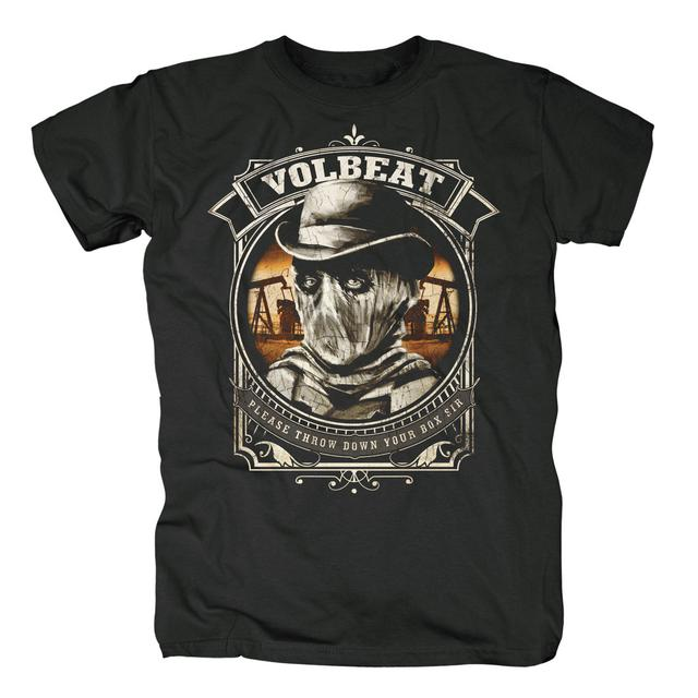 Volbeat Outlaw Gentlemen & Shady Ladies Black Bart T-Shirt