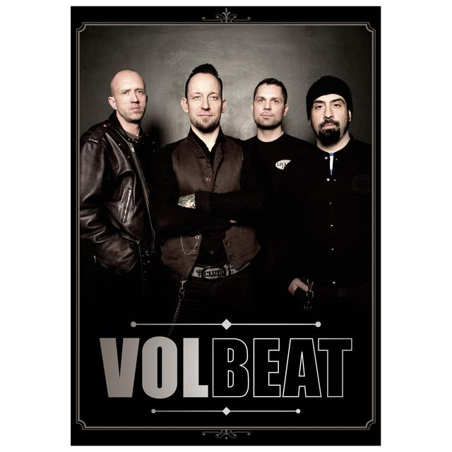 Volbeat Band Portrait Art Print