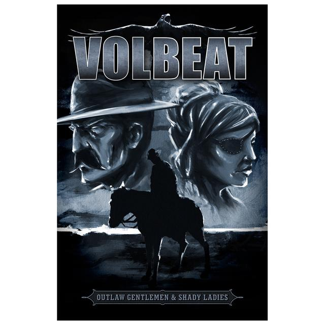 Volbeat Outlaw Gentlemen & Shady Ladies Lonesome Ranger Art Print