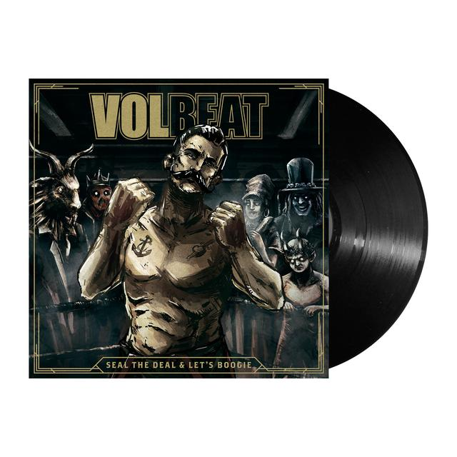 Volbeat Seal The Deal & Let's Boogie Vinyl LP