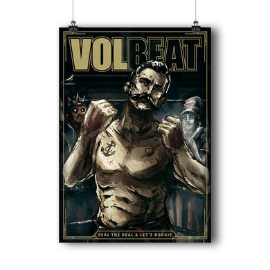 Volbeat Seal The Deal & Let's Boogie Lithograph