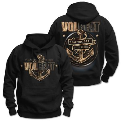 Volbeat Seal The Deal & Let's Boogie Anchor Pullover Hoodie