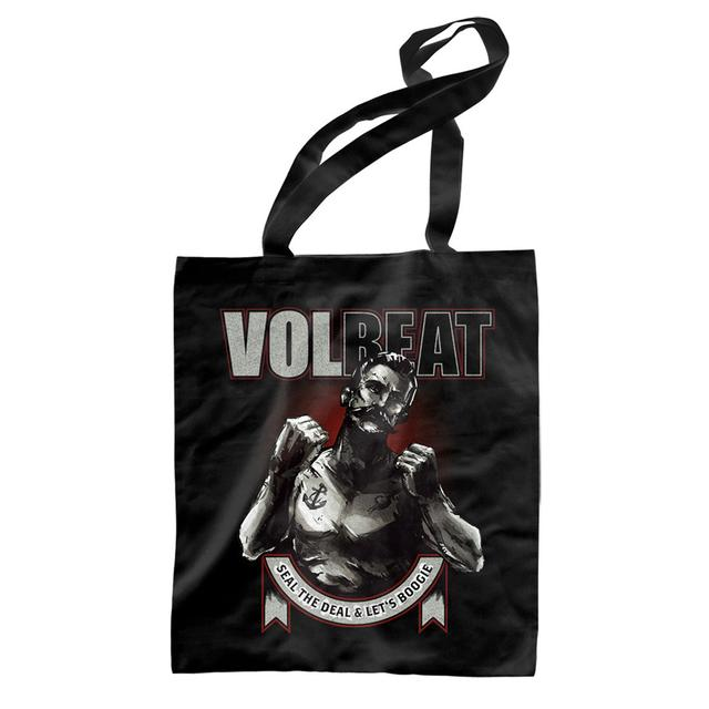Volbeat Seal The Deal & Let's Boogie Boxer Tote