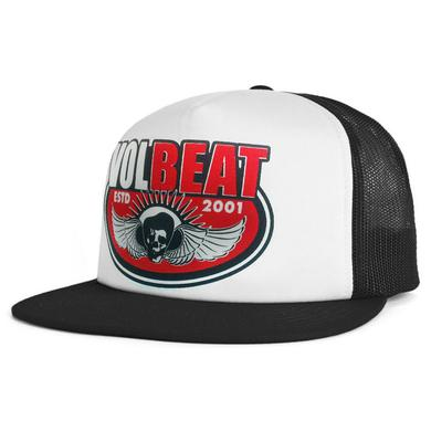 Volbeat Skullwing Trucker Hat