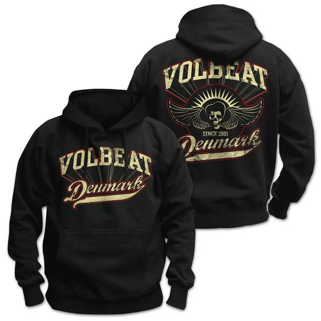 Volbeat Rise from Denmark Pullover Hoodie