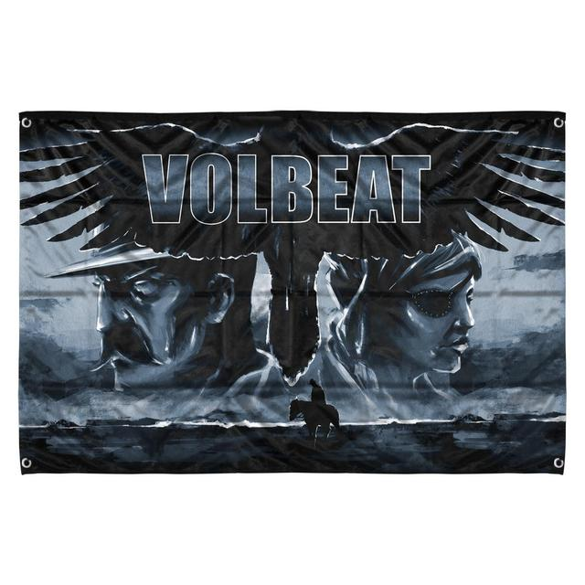 Volbeat Outlaw Gentlemen & Shady Ladies Flag