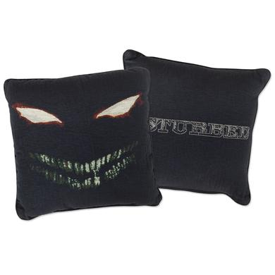 Disturbed Scary Face Woven Pillow