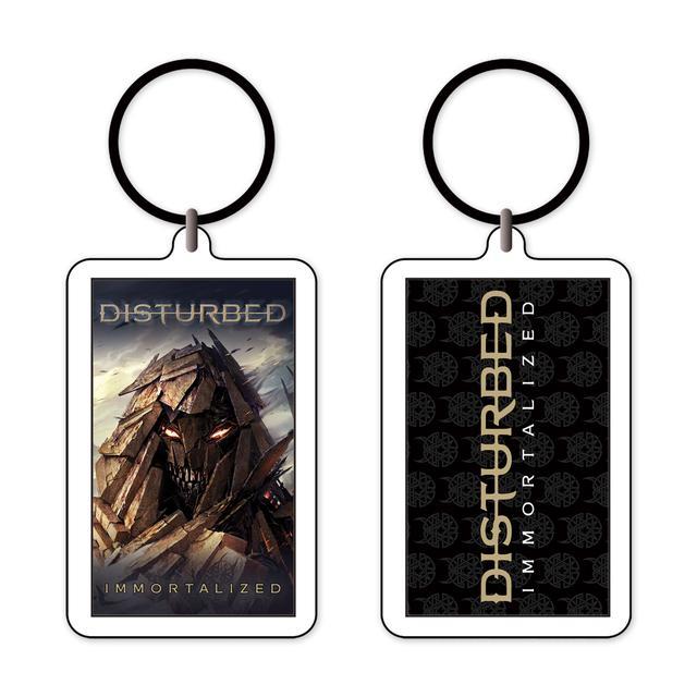 Disturbed Immortalized Keychain