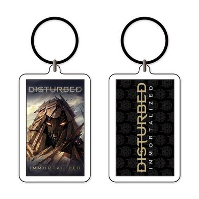 Disturbed Immortalized Keychain
