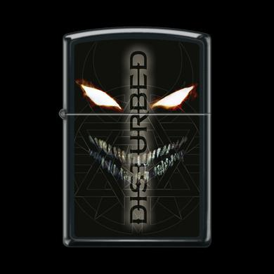Disturbed Scary Face Refillable Zippo Lighter