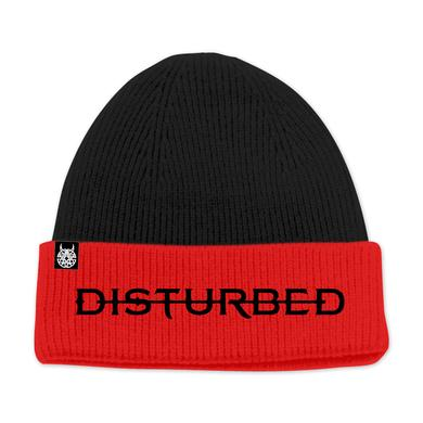 Disturbed 2 Tone Logo Beanie