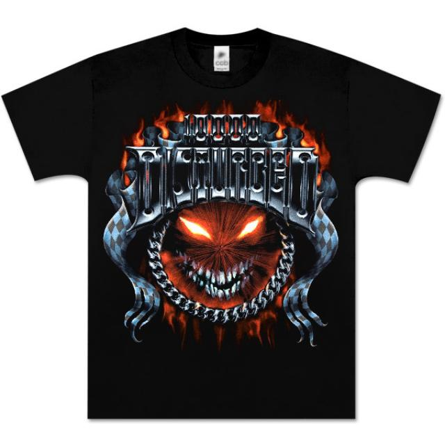 Disturbed Chrome Smiley T-Shirt