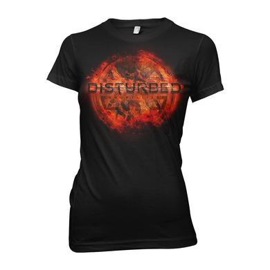 Disturbed Ring of Fire Women's T-Shirt