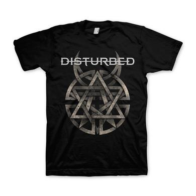 Disturbed Riveted Adult T-Shirt