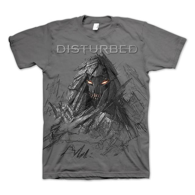 Disturbed Sketch Adult T-Shirt