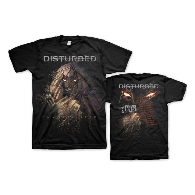 Disturbed Shattered Tour T-Shirt