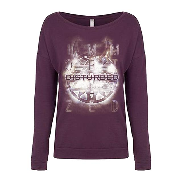 Disturbed Symbol Girls Longsleeve T-Shirt