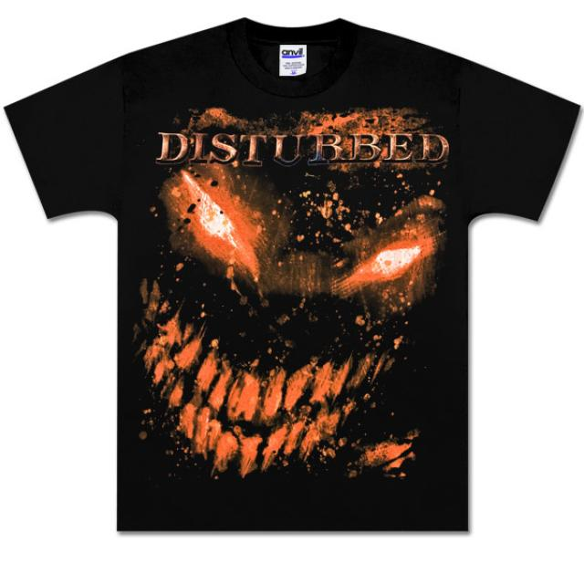Disturbed Jumbo Face Splat T-Shirt