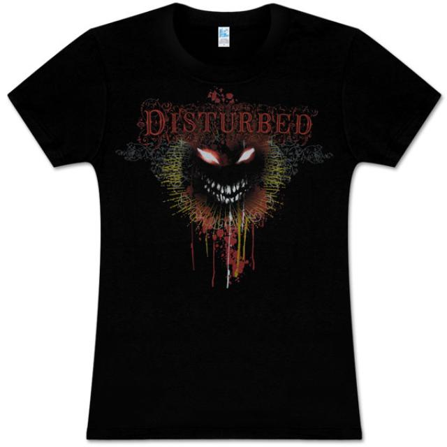 Disturbed Flourish Face Women's T-Shirt