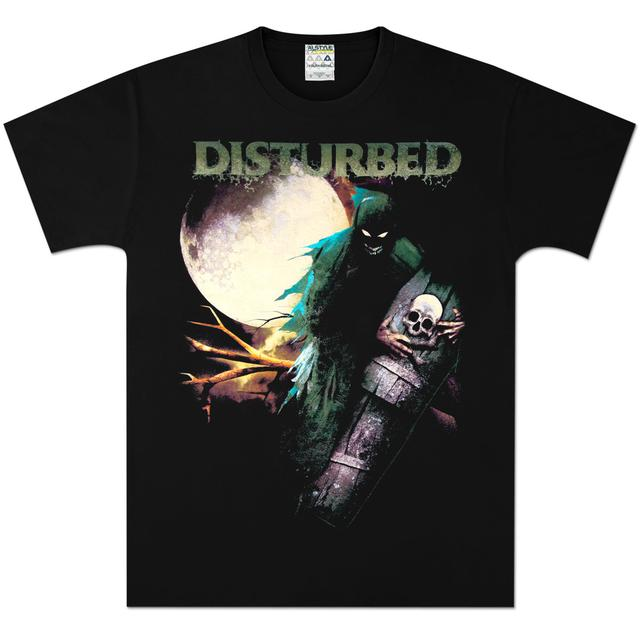 Disturbed Creepin Coffin T-Shirt